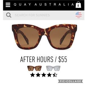QUAY After Hours Sunnies